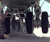 A B-52 óriási futóműve (nagy file-méret!)