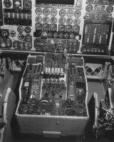 Az XB-70 pilótafülkéje