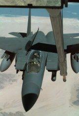 Légi utántöltés bevetésen Dél-Irak fölött