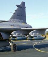 227 kg-os bombák dupla tartókon